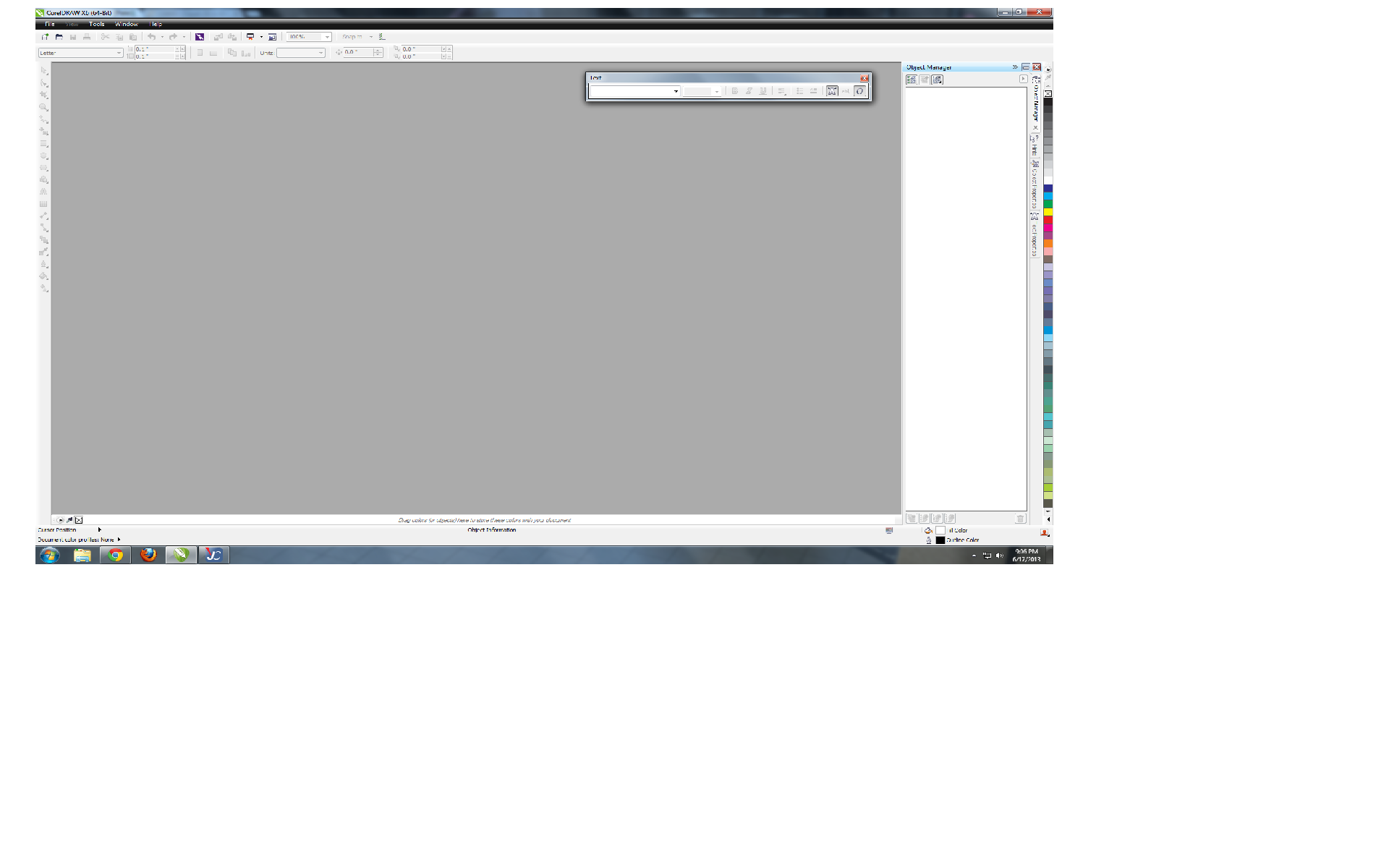 Picture of Software Setup: Using Corel Draw (Or Adobe Illustrator)