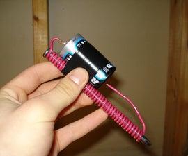 Make a basic electromagnet