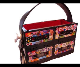 How to Make Tape Cassette Purses