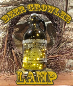 BEER GROWLER LAMP