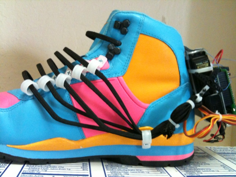 Picture of Power Laces- the Auto Lacing Shoe