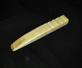 make a leather craft burnisher/ creaser