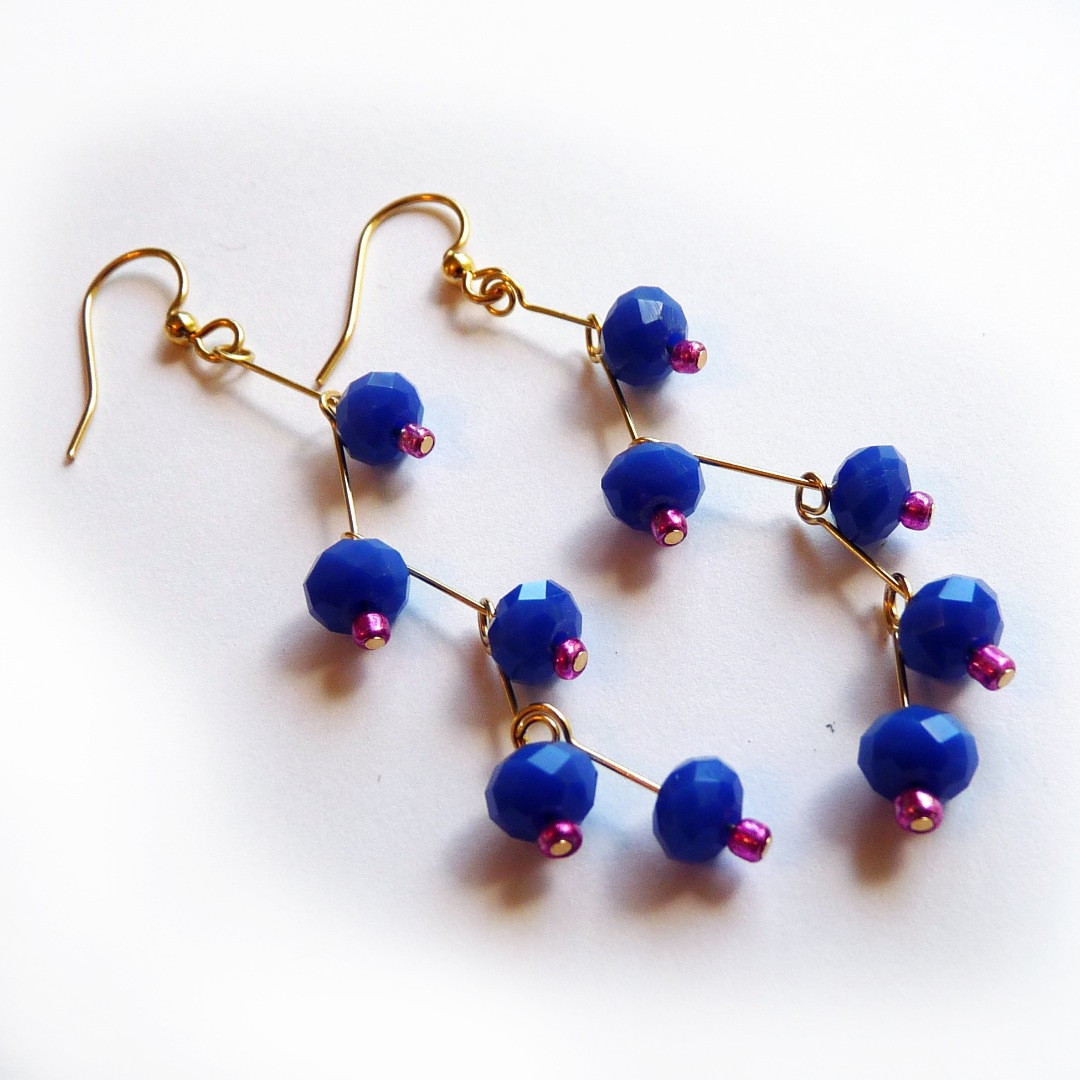 Picture of Head Pin Branch Earrings