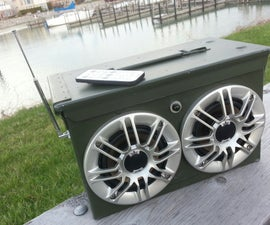 Ammo Can BOOM box