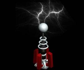 Tesla coil experiments