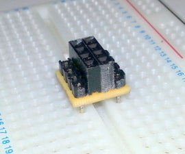 ESP8266 / nRF24L01 Breadboard Adapter