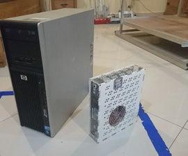 My Smallest Workstation So Far / Ryzen7 in 3.2 Liters Case