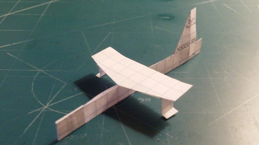 Applying the Wing and Horizontal Stabilizers; Stapling