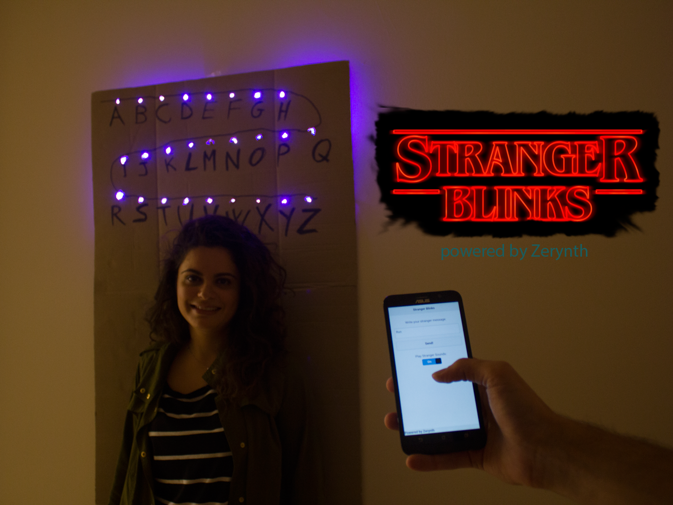 Picture of Stranger Blinks: Send Messages From the Upside-Down