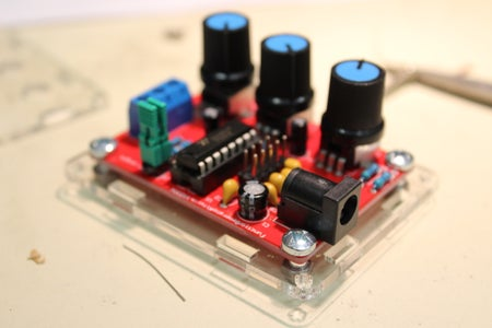 Soldering Through Hole Components (PHS)