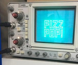 Arduino XY Display on a Oscilloscope Shield