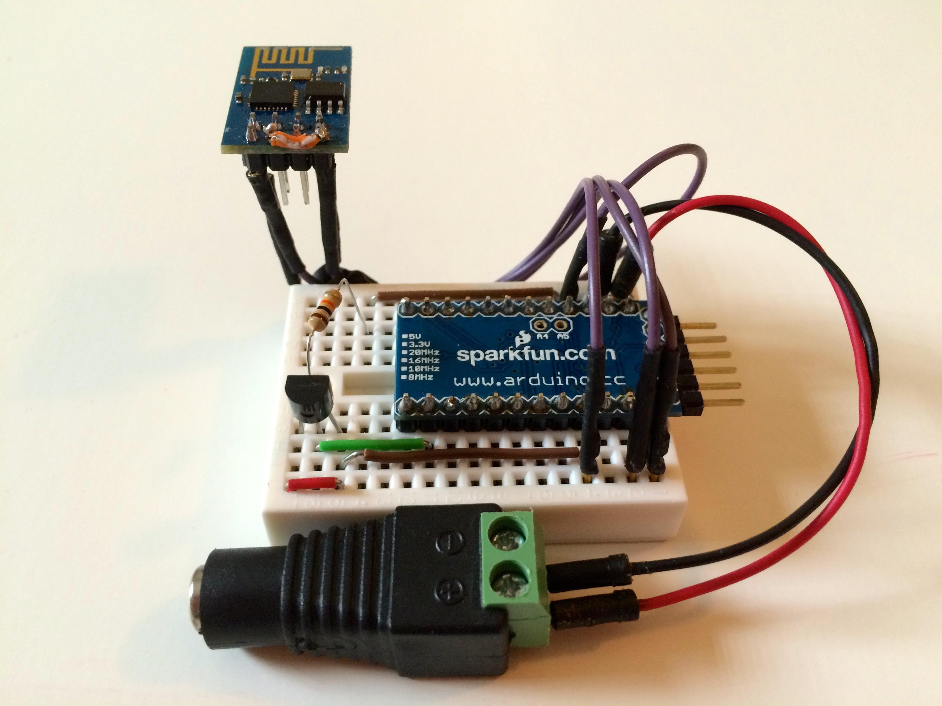 Picture of ESP8266 Wifi Temperature Logger