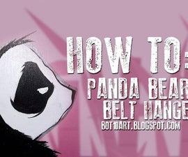 HOW TO: Panda Belt Hanger