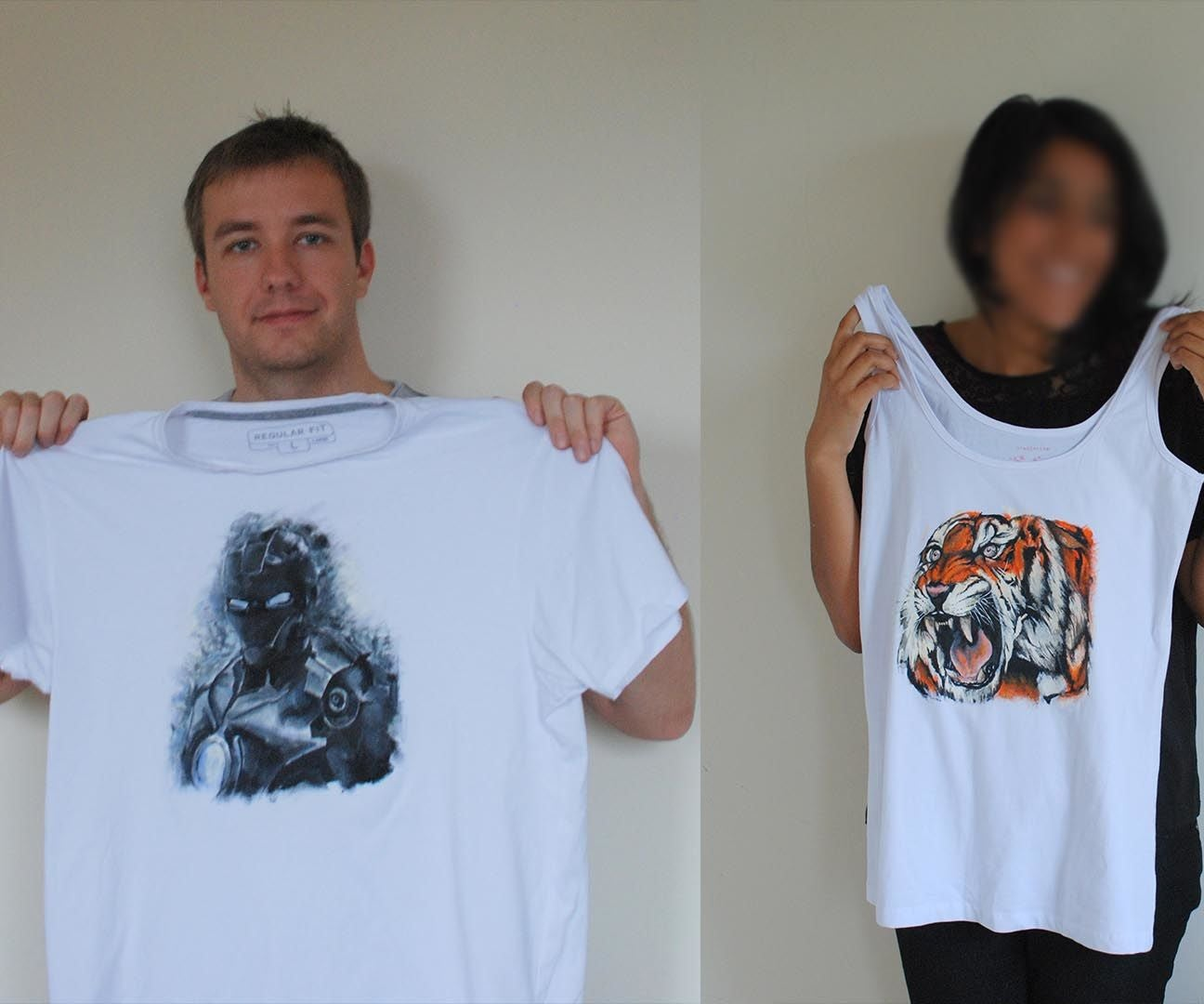 bbfd53d7 Hand Painted T-shirts. : 6 Steps (with Pictures)