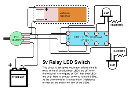 Wiring Configuration 2 - OFF/OFF or ON/ON