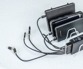 USB Charging Station for Smartphones and Other Devices