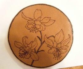Leather Coaster
