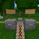 Minecraft  Mine-cart Manual Track Switch