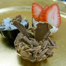 Decadent Chocolate Truffle Dessert Shells