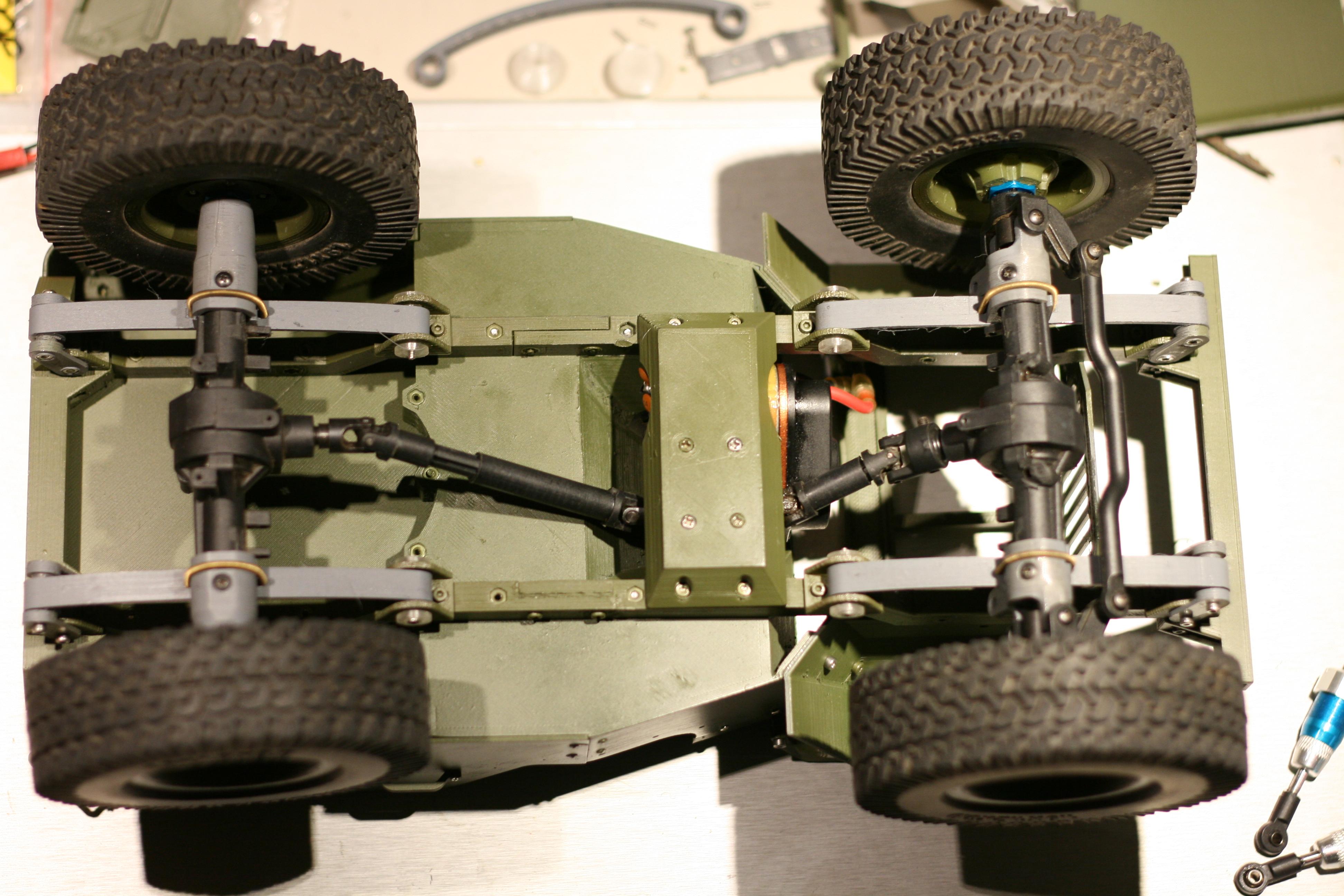 Picture of Assemble Jeep: Drivetrain