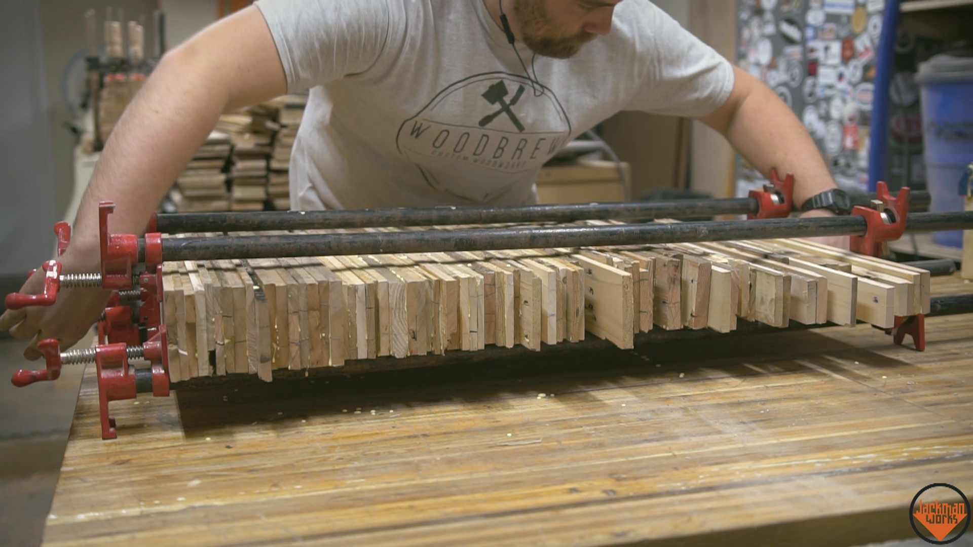 Picture of 1st Glue-up