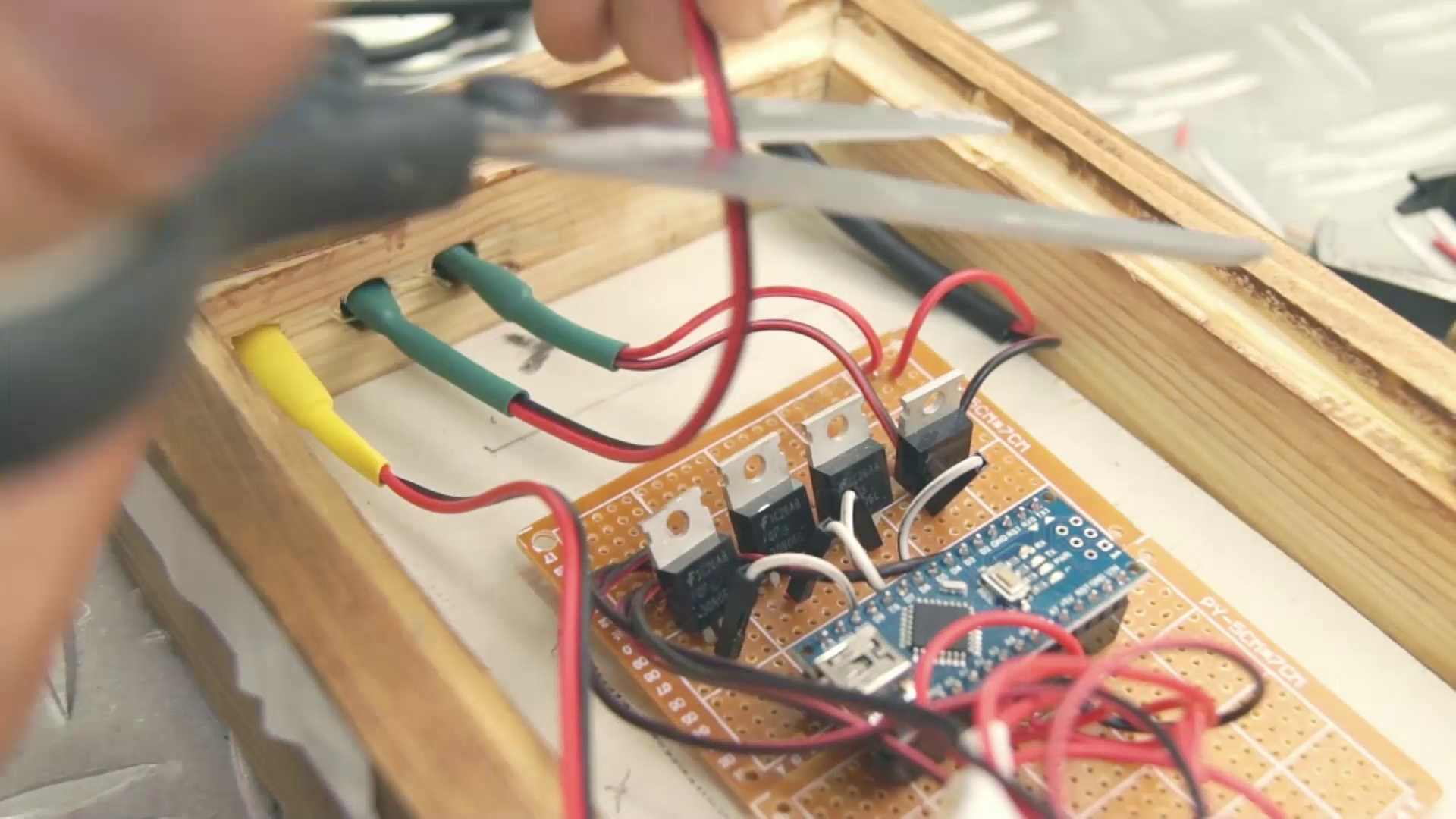 Picture of Last Part of Electronics
