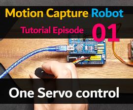 Control 1 Servo Motor Using 1 Potentiometer (Humanoid Robot EP 01)