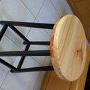 Simple Metal Scrap Stool
