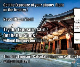 Photo Exposure made Easy, sunny 16 rule and MORE !