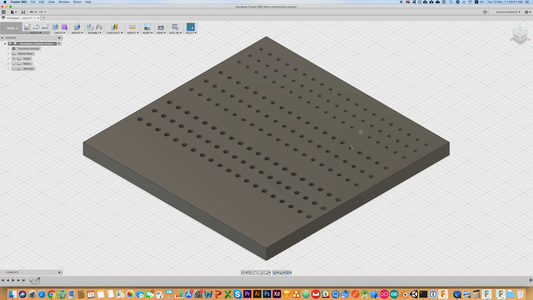 Design the Grid Container With AutoDesk Fusion 360