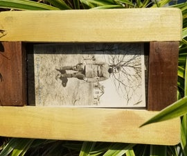 Wedge Mortise and Tenon Frame