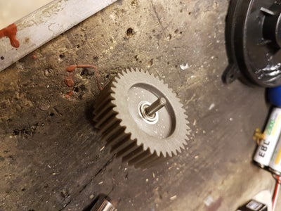 Fitting of the Flange Bearings