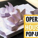 How to Make Pop-up Card: Opera House-Sydney​