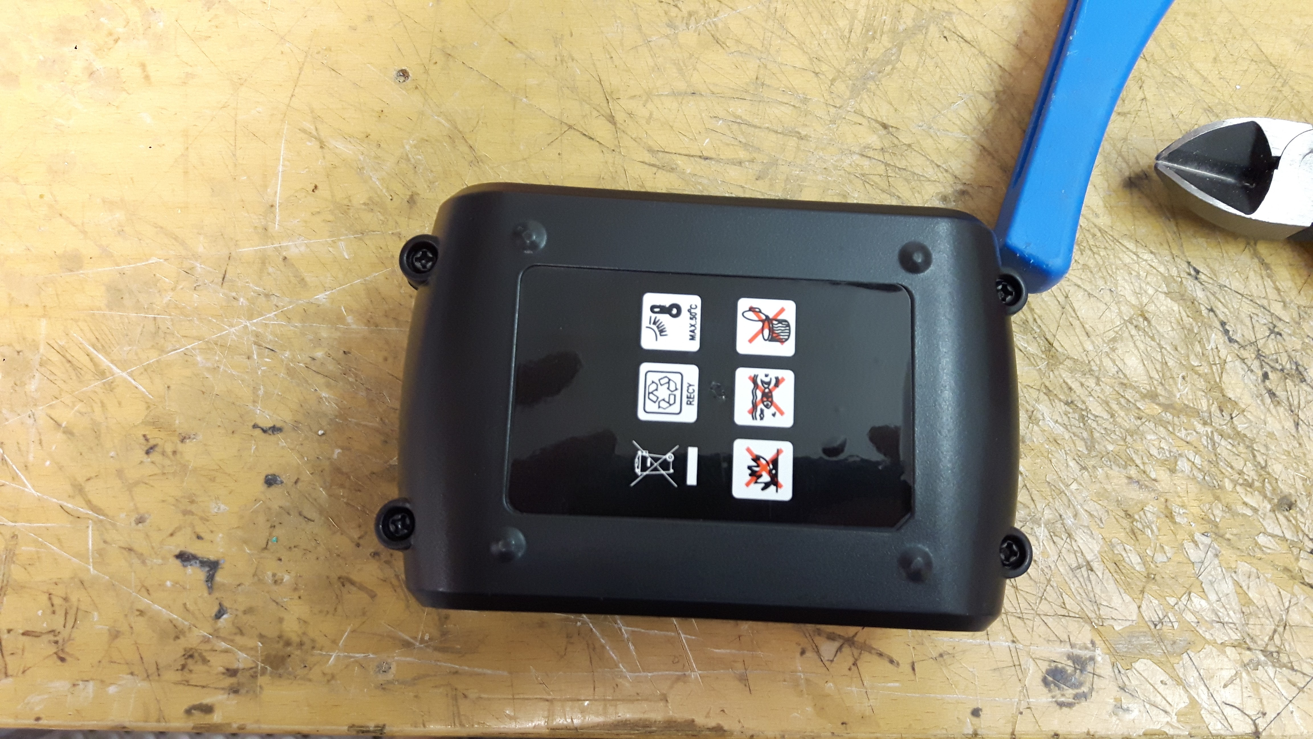 Picture of Battery Pack Modification