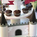CUPCAKES IN A FAIRY CASTLE