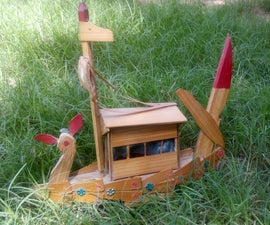 Artificial Boat Craft Out of Plywood