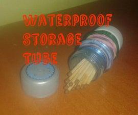 DIY Waterproof Storage Tube