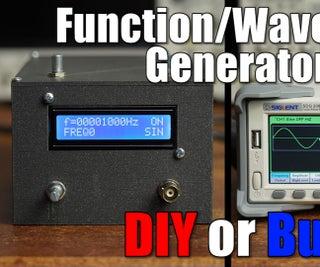 DIY Function/Waveform Generator