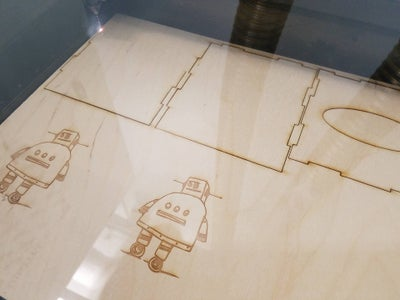 Laser Cutting the Pieces