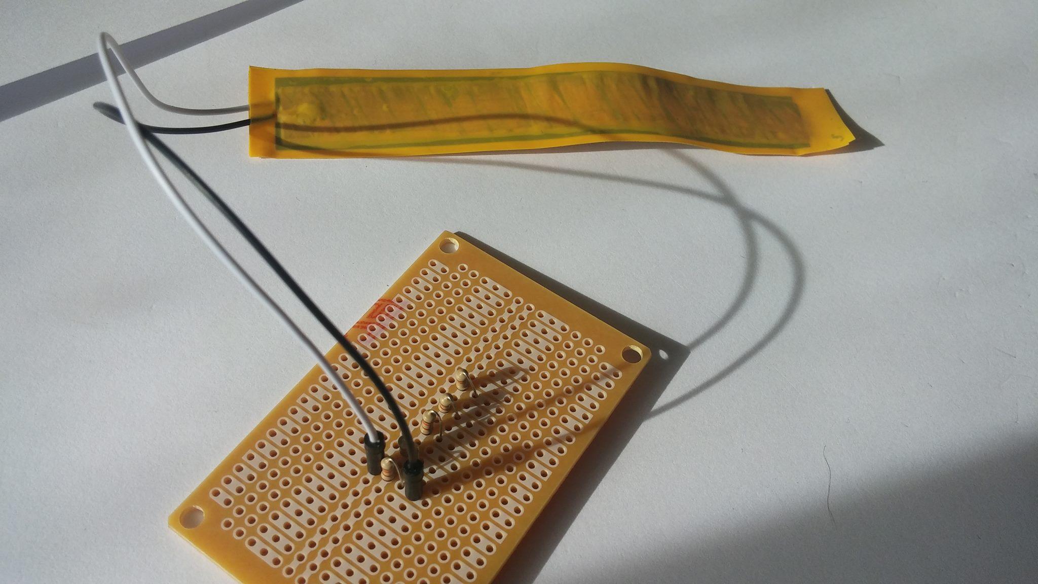 Picture of Make the DIY Flexing/pressing Sensors