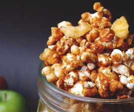 Toffee Apple (Caramel Apple)  Popcorn