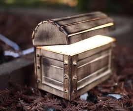 DIY Night Light Treasure Chest