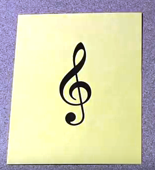 Picture of Treble Clef Notes