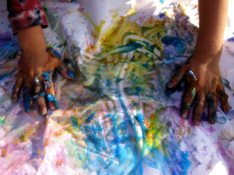 Picture of Homemade Finger Paints