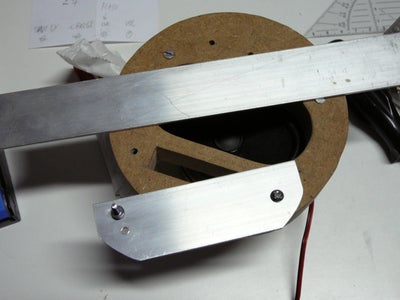 Building the Back and Elektronics.