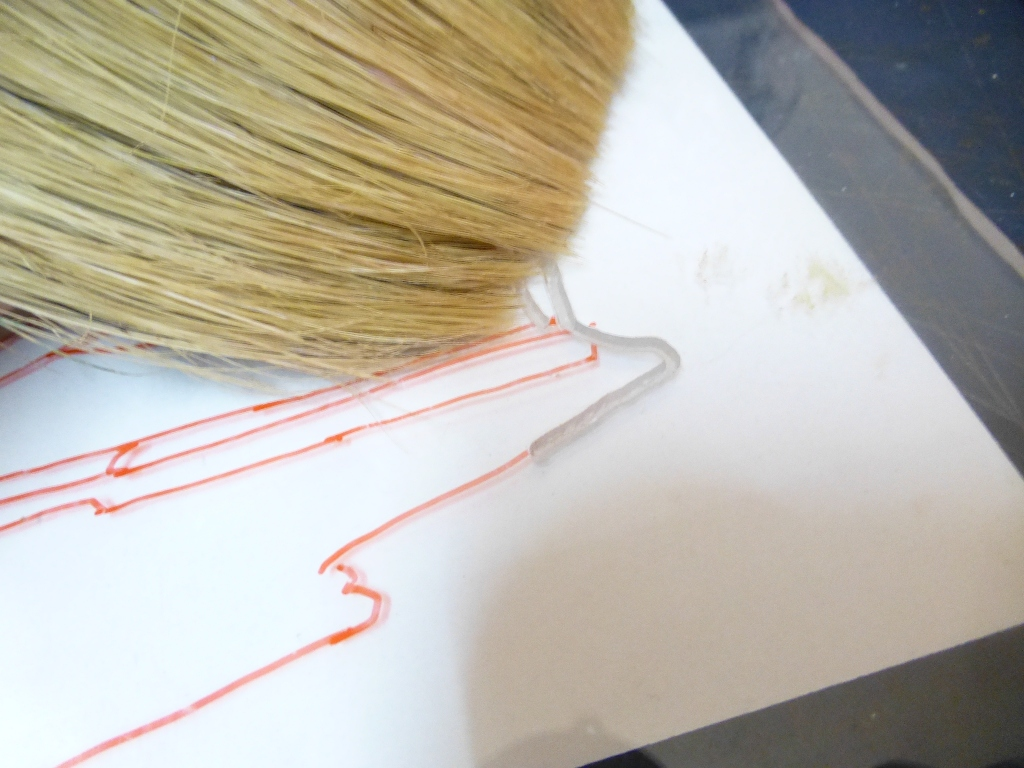 Picture of Routing on the Acrylic Sheet