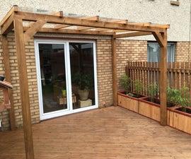 Transparent Roof Pergola for Less Than £300!