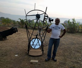 Making 22 Inches Dobsonian Telescope Body Under 100$