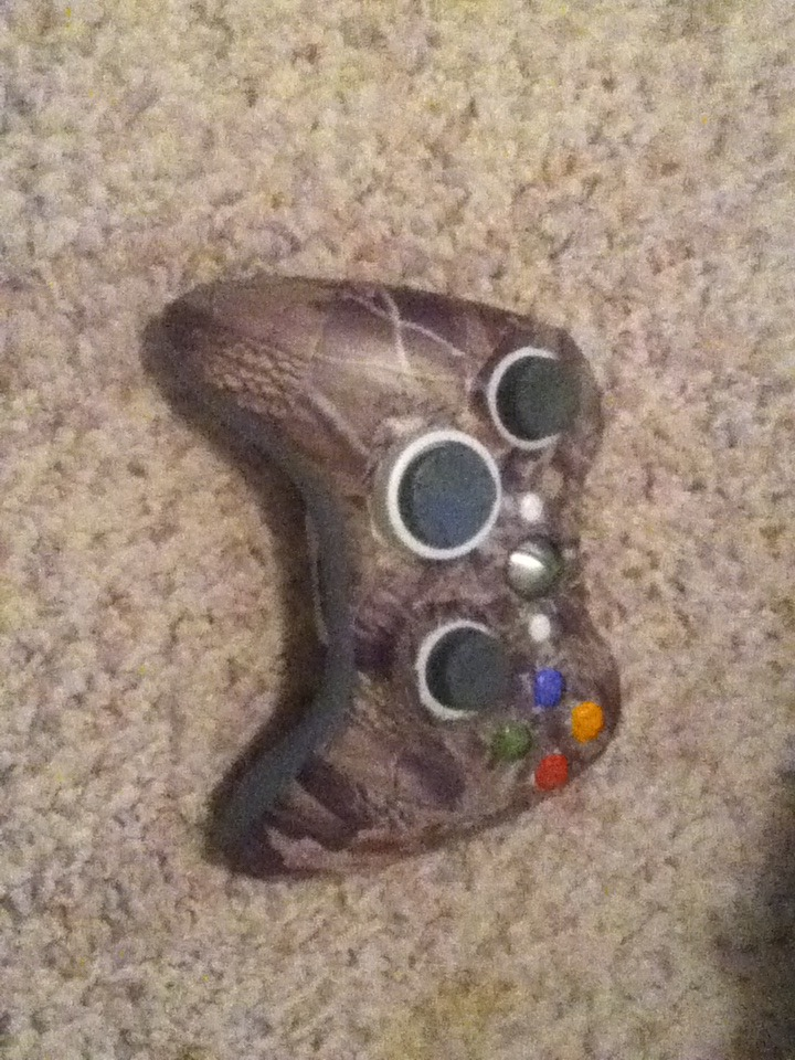 Picture of Camo Xbox Controller
