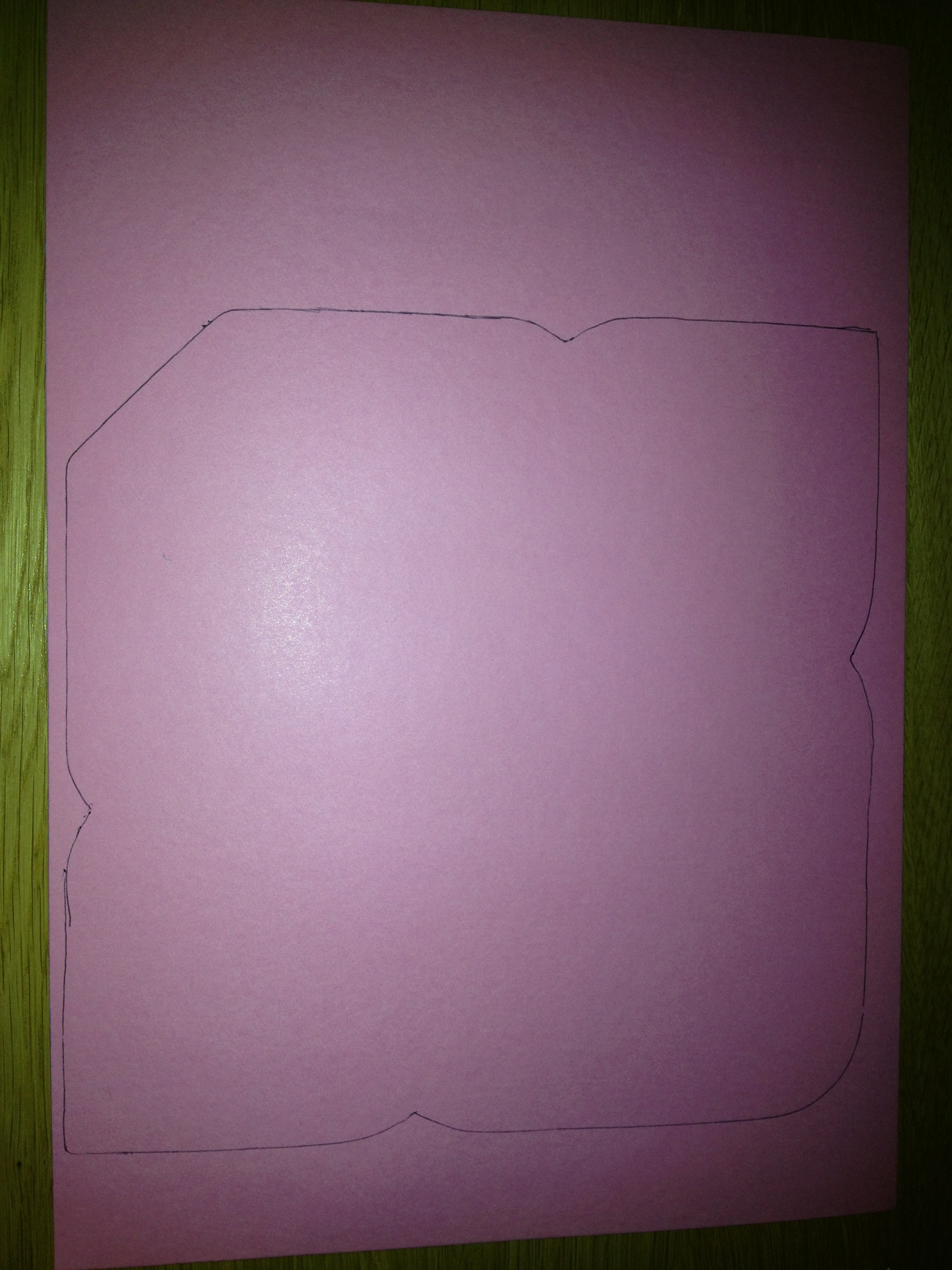 Picture of Draw Out the Shape of an Envelope